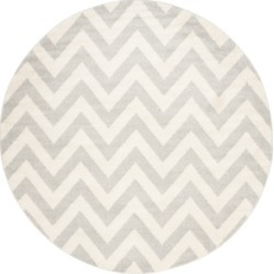 Safavieh Amherst Indoor/Outdoor AMT419 5' x 5' Round Area Rug found on Bargain Bro Philippines from Macy's for $100.00
