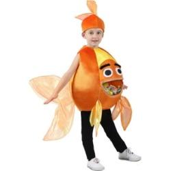 BuySeasons Baby Girls and Boys Feed Me Beta Fish Costume