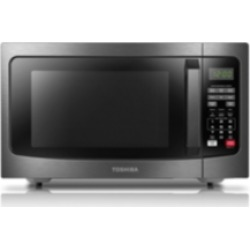 Toshiba ML2-EM31PAEBS Black Stainless Steel Microwave with Smart Sensor found on Bargain Bro Philippines from Macys CA for $158.38