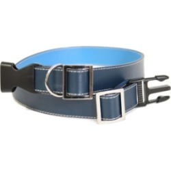 Royce Large Dog Collar in Genuine Leather