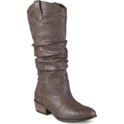Journee Collection Women's Wide Calf Drover Boot Women's Shoes found on Bargain Bro Philippines from Macy's for $73.00