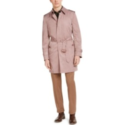 Tallia Men's Slim-Fit Viaggo Trench Coat found on MODAPINS from Macy's for USD $177.00