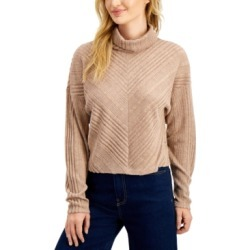 Freshman Juniors' Ribbed Hacci-Knit Turtleneck found on MODAPINS from Macy's for USD $10.13
