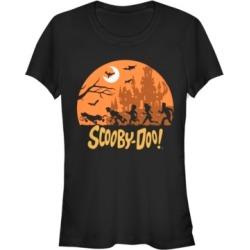Fifth Sun Scooby-Doo Halloween Scene Women's Short Sleeve T-Shirt found on MODAPINS from Macy's for USD $24.99