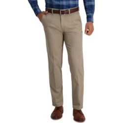 Haggar Men's Slim-Fit Super Flex Casual Pants found on MODAPINS from Macy's for USD $29.99
