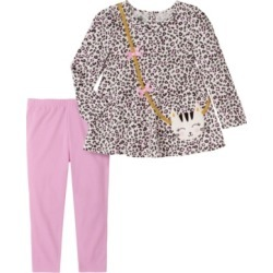 Kids Headquarters Little Girl 2-Piece Tunic Top with Legging Set found on Bargain Bro India from Macy's for $24.00