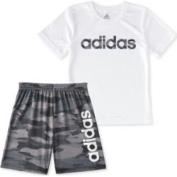 adidas Little Boys 2-Pc. Adi Running Camo Logo T-Shirt & Shorts Set found on Bargain Bro India from Macy's for $26.99