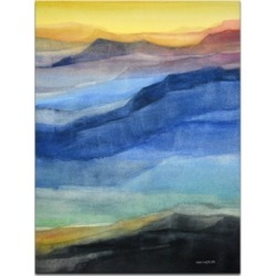 Ready2HangArt 'Colorful Mountains' Canvas Wall Art, 30x20