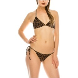 Kendall + Kylie Triangle 2 Piece Swimsuit Women's Swimsuit