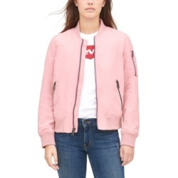 Levi's Women's Zip-Detail Bomber Jacket found on MODAPINS from Macy's for USD $54.99