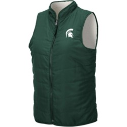 Colosseum Women's Michigan State Spartans Blatch Reversible Vest found on Bargain Bro India from Macy's for $65.00