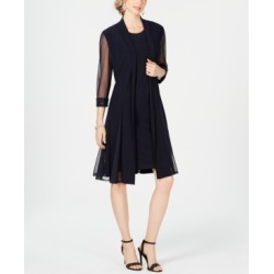 R & M Richards Embellished Dress & Duster Jacket found on MODAPINS from Macy's for USD $109.00