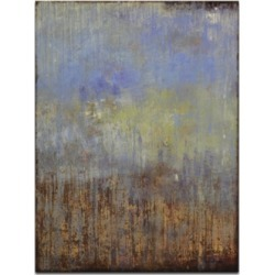 Ready2HangArt, 'Dark Overcast' Abstract Canvas Wall Art, 30x20