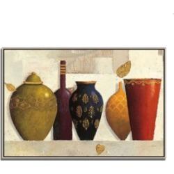 Tangletown Fine Art Jeweled Vessels by James Wiens Fine Art Giclee Print on Gallery Wrap Canvas, 32