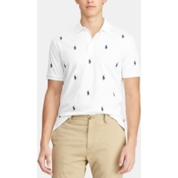 Polo Ralph Lauren Men's Classic-Fit Allover Pony Polo Shirt found on MODAPINS from Macy's for USD $50.93