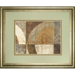 "Classy Art Circular Sculpture by Wild Apple Portfolio Framed Print Wall Art, 34"" x 40"""