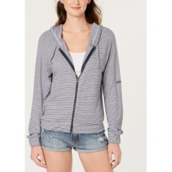 Roxy Juniors' Cloudy Skies Striped Hoodie found on MODAPINS from Macy's for USD $55.00