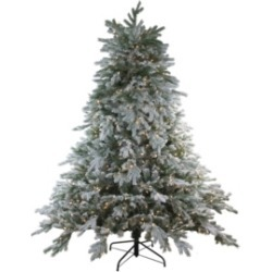 Northlight 6.5' Pre-Lit Frosted Butte Fir Artificial Christmas Tree - Clear Lights found on Bargain Bro India from Macys CA for $729.86