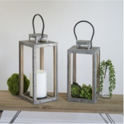 Vip Home & Garden 2-Piece and Lanterns