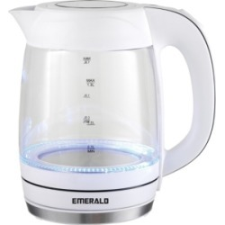 Emerald 1.8L Electric Glass Kettle with Led Lights