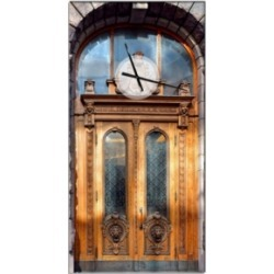 Designart Oversized Contemporary Metal Wall Clock found on Bargain Bro Philippines from Macy's Australia for $278.28