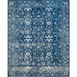 Safavieh Evoke EVK270A Navy/Ivory 4' x 6' Area Rug found on Bargain Bro from Macy's for USD $182.40
