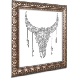 Filippo Cardu 'Buffalo Skull' Ornate Framed Art found on Bargain Bro India from Macys CA for $59.10