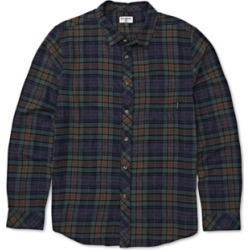 Billabong Men's Freemont Stretch Plaid Flannel Shirt