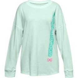 Under Armour Big Girls Wordmark Branded Tee found on Bargain Bro India from Macy's for $18.75