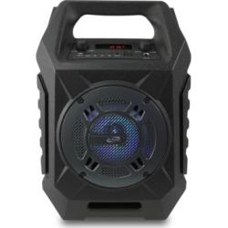 iLive Bluetooth Tailgate Speaker with 35' Range, Fm Tuner, Speaker Led Lights Show