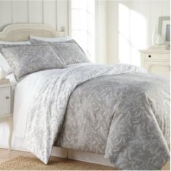 Southshore Fine Linens Winter Brush Reversible Down Alt Comforter and Sham Set, King/California King Bedding