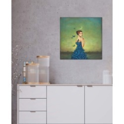 """iCanvas """"Metamorphosis In Blue"""" by Duy Huynh Gallery-Wrapped Canvas Print"""