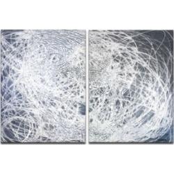 Ready2HangArt 'Jean String' 2 Piece Abstract Canvas Wall Art Set - 30