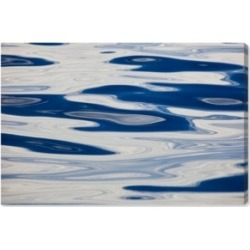 Oliver Gal Ocean Surface Abstract by David Fleetham Canvas Art, 24