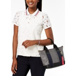 Tommy Hilfiger Lace Polo Shirt, Created for Macy's found on MODAPINS from Macy's for USD $58.99
