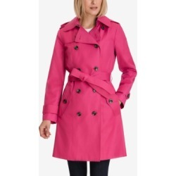 London Fog Hooded Double-Breasted Trench Coat found on MODAPINS from Macy's for USD $135.00