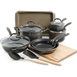 Cravings by Chrissy Teigen 14-Pc. Nonstick Aluminum Cookware Set