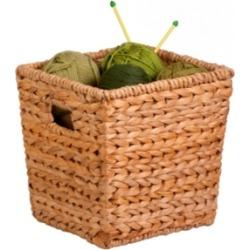 Honey Can Do Medium Square Water Hyacinth Basket