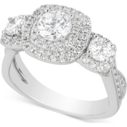 Diamond Triple Halo Engagement Ring (2 ct. t.w.) in 14k White Gold found on Bargain Bro India from Macy's for $3110.06