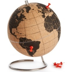 Suck Uk Mini Desktop Cork Globe found on GamingScroll.com from Macy's for $45.00