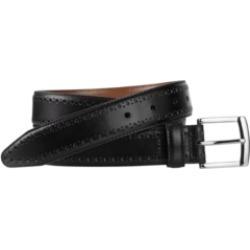 Johnston & Murphy Men's Perfed-Edge Belt found on Bargain Bro from Macy's for USD $37.62
