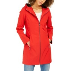 Calvin Klein Hooded Water-Resistant Raincoat found on MODAPINS from Macy's for USD $89.99