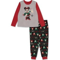 Matching Plus Size Holiday Mickey & Minnie Family Pajama Set found on Bargain Bro India from Macy's Australia for $35.90