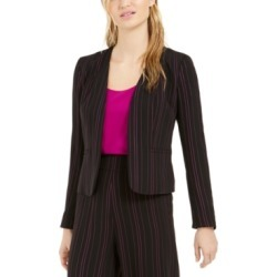 Bar Iii Striped Open-Front Jacket, Created For Macy's found on Bargain Bro Philippines from Macy's Australia for $106.77