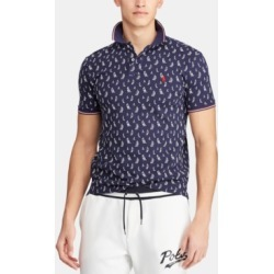 Polo Ralph Lauren Men's Classic-Fit Sail Boat Mesh Polo Shirt found on MODAPINS from Macy's for USD $98.50