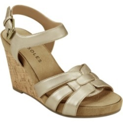 Aerosoles Pennsville Strappy Wedge Women's Shoes found on Bargain Bro India from Macy's Australia for $63.44