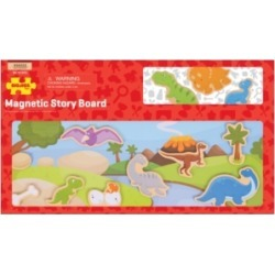 Bigjigs Toys Wooden Magnetic Story Board - Dinosaur