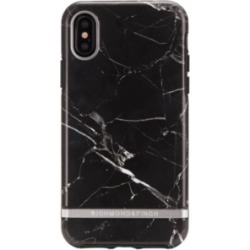Richmond & Finch Black Marble case for iPhone X and Xs