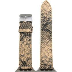 Nimitec Snake Leather Apple Watch Band found on Bargain Bro India from Macy's for $15.00