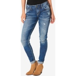Silver Jeans Co. Mid Rise Girlfriend Jeans found on MODAPINS from Macy's Australia for USD $94.74